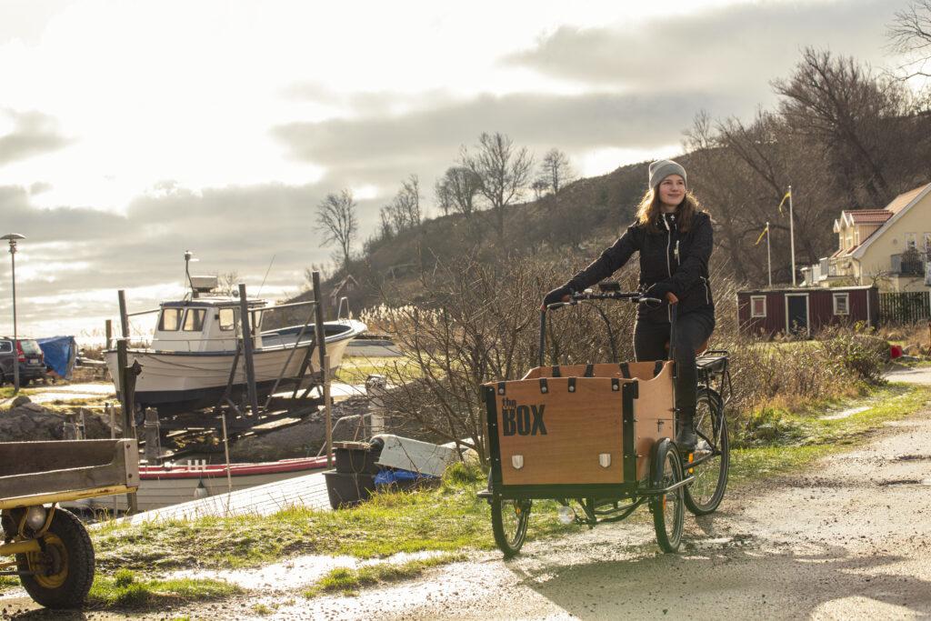 Svensson bike på Ven